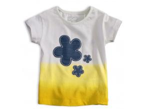 Dívčí tričko KNOT SO BAD FIORE žluté