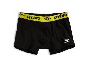 Pánské boxerky UMBRO žlutý pas