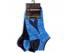Kotníkové ponožky DIADORA černé