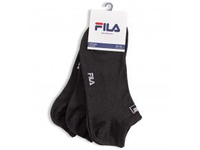 Kotníkové ponožky FILA černé