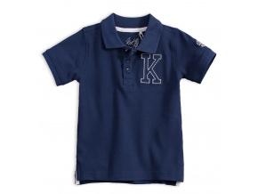 Chlapecké polo tričko KNOT SO BAD K tmavě modré