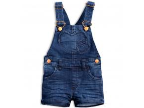 Dívčí šortky s laclem KNOT SO BAD COOLEST modré