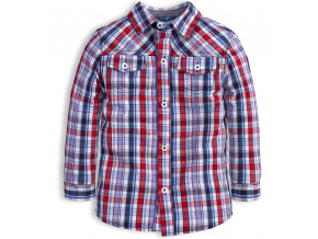 Chlapecká košile KNOT SO BAD EASY červená