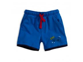 Chlapecké bavlněné šortky KNOT SO BAD COOL modré