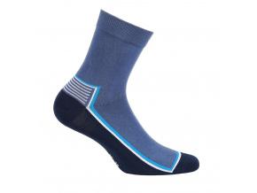 Chlapecké ponožky GATTA PROUŽEK modré
