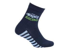 Chlapecké ponožky WOLA RACING modré