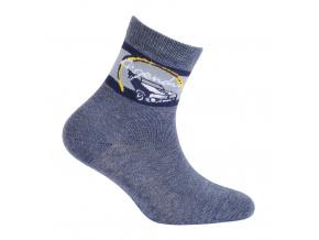 Chlapecké ponožky s obrázkem WOLA LEGENDARY modré