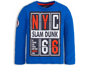 Chlapecké tričko CANGURO SLAM DUNK modré