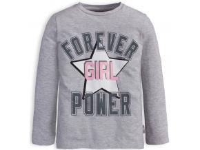 Dívčí tričko CANGURO FOREVER šedé