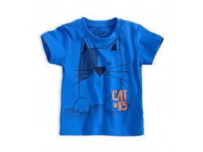 Chlapecké tričko LOSAN KOČKA modré