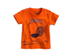 Chlapecké tričko LOSAN PEJSEK oranžové