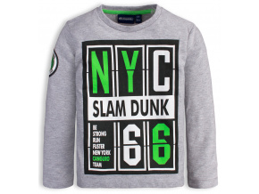 Chlapecké tričko CANGURO SLAM DUNK šedé