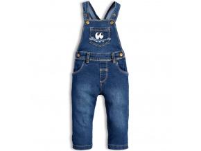Dětské džíny s laclem KNOT SO BAD MONSTER modré