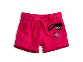 Dívčí šortky KNOT SO BAD BEAUTIFUL růžové