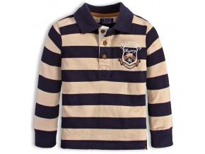 Dětské tričko polo MINOTI FENWAY tmavě modré