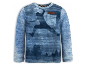 Chlapecké triko s dlouhým rukávem DIRKJE FREEWAY PARK modré