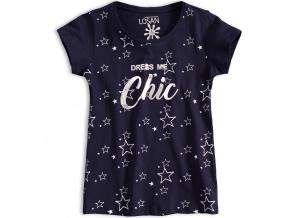 Dívčí tričko LOSAN CHIC tmavě modré