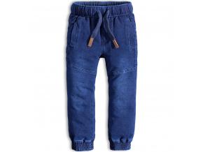 Chlapecké kalhoty KNOT SO BAD JOGGING modré