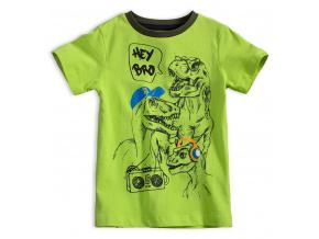Chlapecké tričko KNOT SO BAD DINO zelené