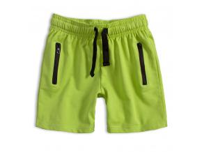 Chlapecké šortky KNOT SO BAD zelené