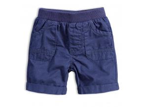 Dětské šortky KNOT SO BAD BABY BOY tmavě modré