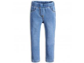 Dívčí kalhoty jeggings KNOT SO BAD STYLE světle modré