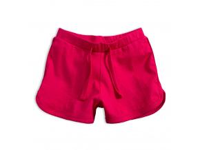 Dívčí bavlněné šortky KNOT SO BAD SWEET SUMMER růžové