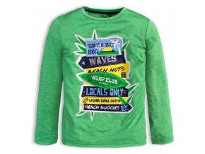 Chlapecké tričko KNOT SO BAD SURF CLUB zelené