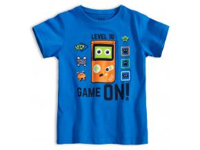 Dětské tričko GAME ON modré
