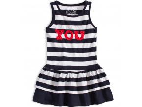 Dívčí letní šaty LOSAN NICE DAY proužkované