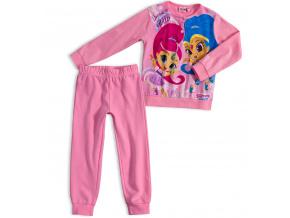 Dívčí pyžamo SHIMMER & SHINE DREAM světle růžové
