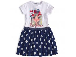 Dívčí šaty Mix´nMATCH MISS GLAMOUR modré