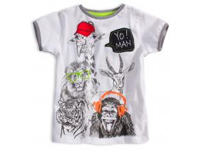 Dětské tričko KNOT SO BAD YO MAN bílé