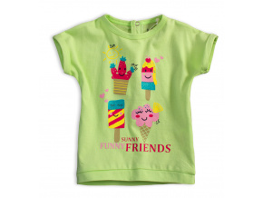 Dětské tričko KNOT SO BAD FUNNY SUNNY zelené