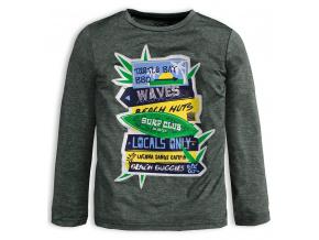 Chlapecké tričko KNOT SO BAD SURF CLUB šedé