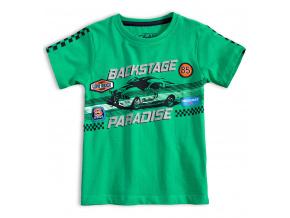 Chlapecké tričko LOSAN BACKSTAGE zelené