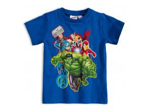 Dětské tričko MARVEL AVENGERS HULK modré