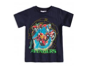 Dětské tričko MARVEL AVENGERS IRON MAN modré