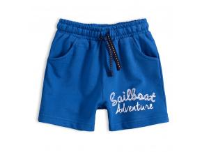 Chlapecké šortky KNOT SO BAD SAILBOAT středně modré