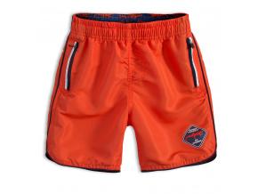 Chlapecké koupací šortky KNOT SO BAD DANGER oranžové