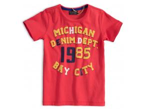Chlapecké tričko MINOTI DENIM červené