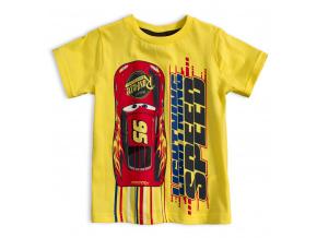 Chlapecké tričko PIXAR AUTA žluté