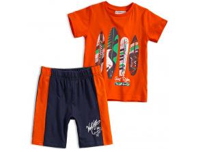 Chlapecká letní souprava Mix´nMATCH SURF RIDER oranžová