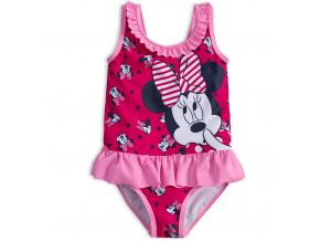 Dívčí plavky vcelku Disney MINNIE růžové