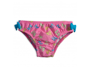 Dívčí plavky KNOT SO BAD MAŠLIČKY růžové