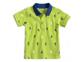 Chlapecké polo tričko KNOT SO BAD BUG zelené