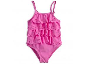 Dívčí plavky vcelku KNOT SO BAD LOVE SUMMER růžové