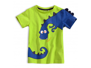 Chlapecké tričko KNOT SO BAD DINOSAURUS zelené