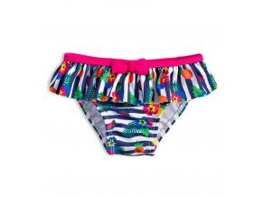 Plavky pro holčičky KNOT SO BAD FRUIT růžové