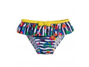 Plavky pro holčičky KNOT SO BAD FRUIT žluté